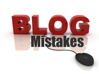 blog mistakes you are making