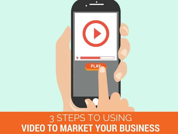3 Steps to Using Video to Market Your Business