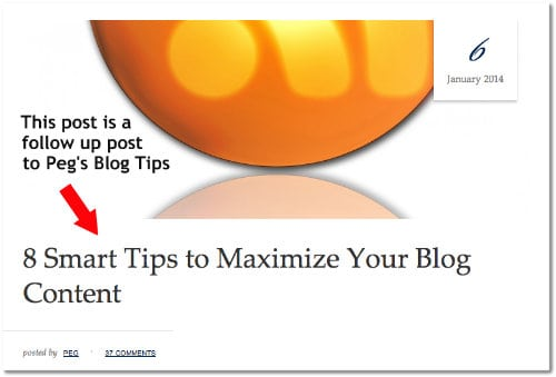 maximize your blog content