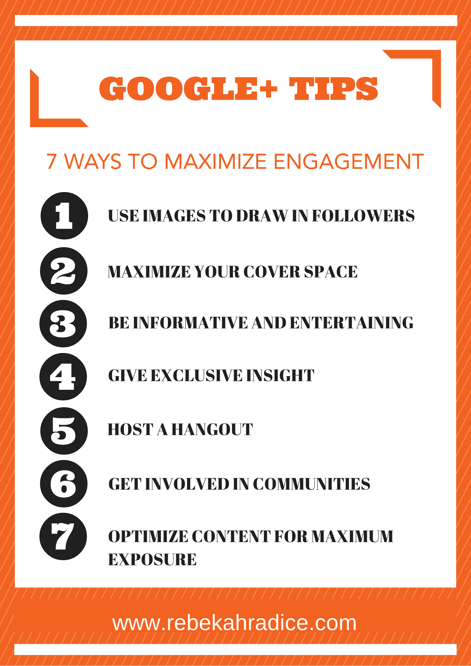 7 Google+ Tips to Create Maximum Engagement