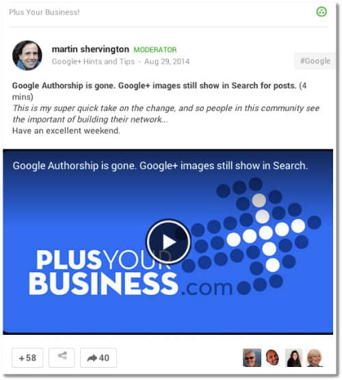 google plus plus your business