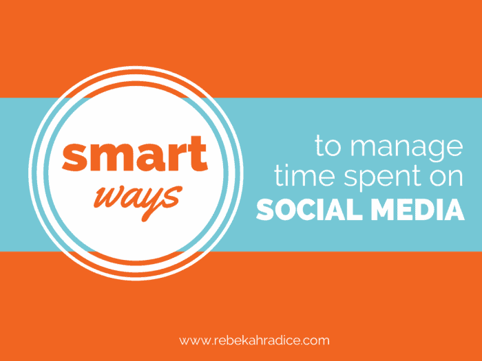 Smart Ways to Manage Time on Social Media