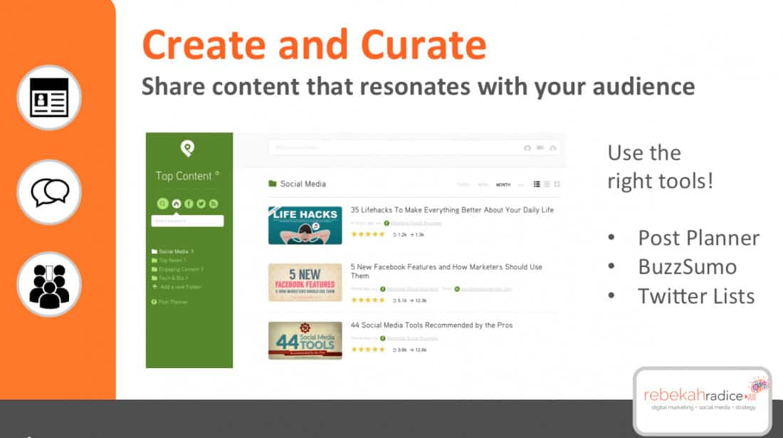 create and curate