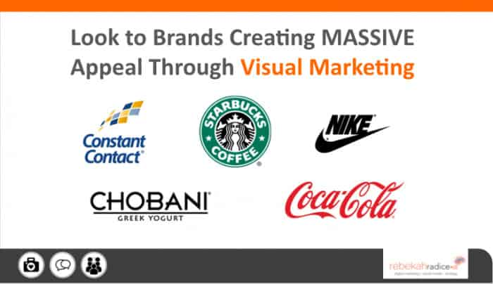 top visual marketing brands