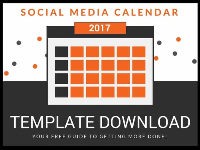 How to Fill Up Your Social Media Calendar [Strategy + Template]