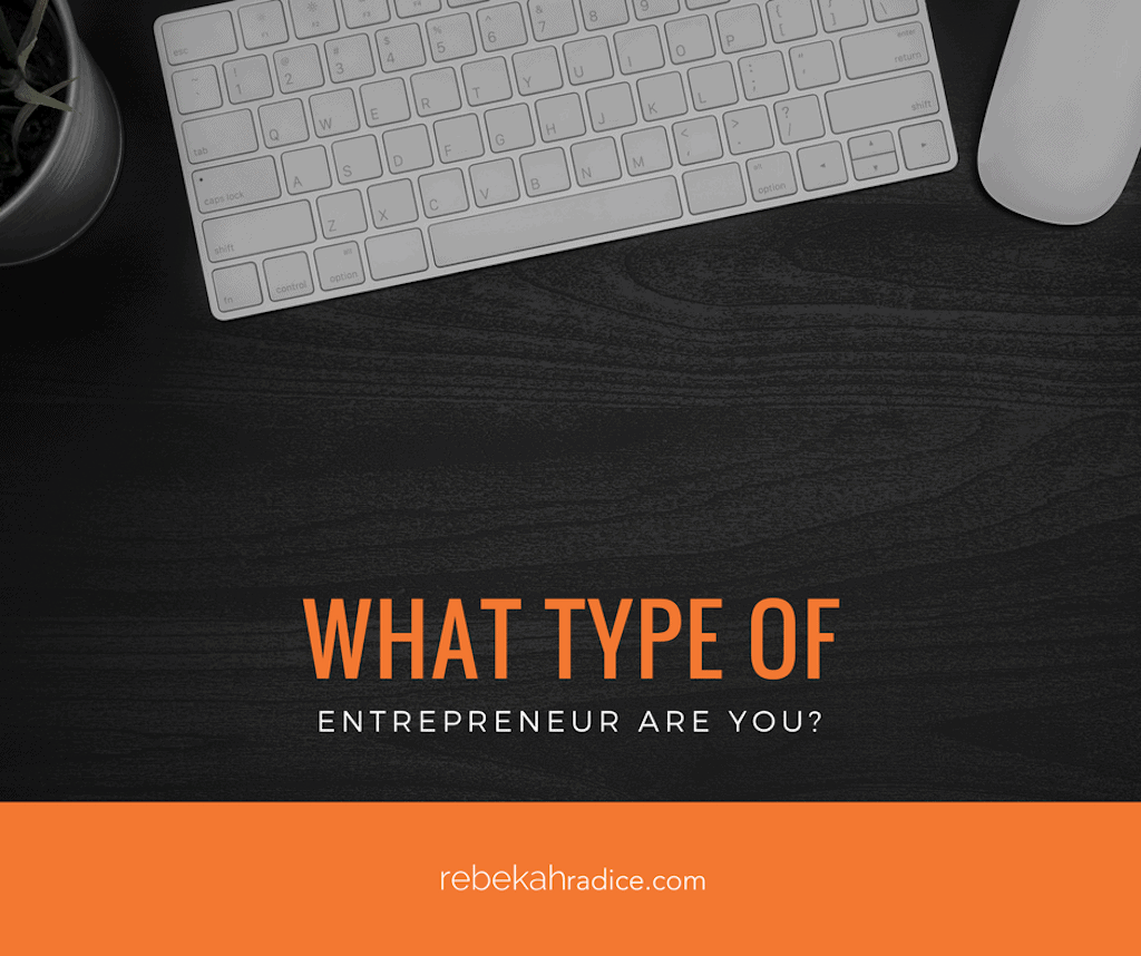 What Type of An Entrepreneur Are You